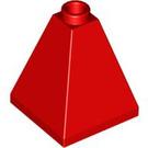 LEGO Red Slope 75° 2 x 2 x 2 Quadruple (3688)