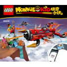 LEGO Red Son's Inferno Jet Set 80019 Instructions