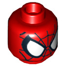LEGO Red Spider-Man Head (Safety Stud) (10342 / 11413)