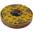 LEGO Red Spinner Ø47.79 X 1-1/3 (92547)