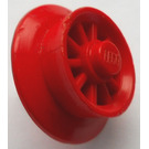 LEGO Red Spoked Train Wheel for Motor