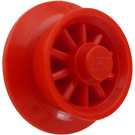 LEGO Red Spoked Train Wheel for Wagon