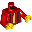 LEGO Red Stilt Walker Minifig Torso (76382)
