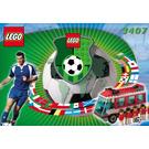 LEGO Red Team Transport Set 3407 Instructions