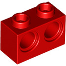 LEGO Red Technic Brick 1 x 2 with 2 Holes (32000)