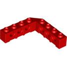 LEGO Red Technic Brick 5 x 5 Corner with Holes (32555)