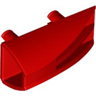 LEGO Red Technic Side Flaring Intake 1 x 4 with Two Pins (30647)