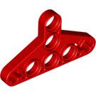 LEGO Red Technic Triangle Beam Thin Type 1 (2905)