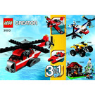 LEGO Red Thunder Set 31013 Instructions
