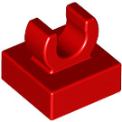 "LEGO Red Tile 1 x 1 with Clip (Raised ""C"") (15712 / 44842)"