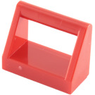 LEGO Red Tile 1 x 2 with Handle (2432)