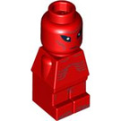 LEGO Red Ufo Attack Alien Microfigure