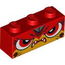 LEGO Red Unikitty Brick 1 x 3 (47679)