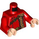LEGO Red Viktor Krum Minifig Torso (76382)