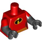 LEGO Red Violet Minifig Torso (16360)