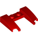 LEGO Red Wedge 3 x 4 x 0.6 with Cutout (11291 / 31584)