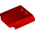 LEGO Red Wedge 4 x 4 x 0.66 Curved (45677)