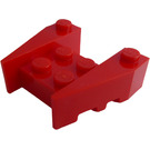 LEGO Red Wedge Brick 3 x 4 with Stud Notches (50373)