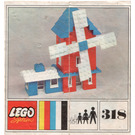LEGO Red Windmill Set 318