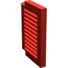 LEGO Red Window 1 x 2 x 2 Shutter (3582)