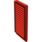 LEGO Red Window 1 x 2 x 3 Shutter (3856)