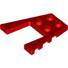 LEGO Red Wing 4 x 4 with 2 x 2 Cutout (41822 / 43719)