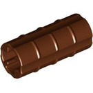 LEGO Reddish Brown Axle Connector (Ridged with 'x' Hole) (6538)