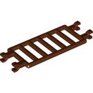 LEGO Reddish Brown Bar 7 x 3 with Quadruple Clips (30095)