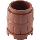 LEGO Reddish Brown Barrel 2 x 2 x 1.667 (2489 / 26170)