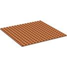 LEGO Reddish Brown Baseplate 16 x 16
