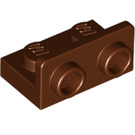 LEGO Reddish Brown Bracket 1 x 2 - 1 x 2 Up (99780)