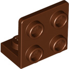 LEGO Reddish Brown Bracket 1 x 2 - 2 x 2 Up (99207)