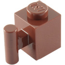LEGO Reddish Brown Brick 1 x 1 with Handle (2921 / 28917)
