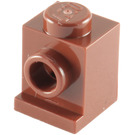 LEGO Reddish Brown Brick 1 x 1 with Headlight and Slot (4070)