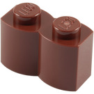 LEGO Reddish Brown Brick 1 x 2 Log (30136)
