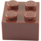 LEGO Reddish Brown Brick 2 x 2 (3003)