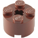 LEGO Reddish Brown Brick 2 x 2 Round (3941 / 6143)