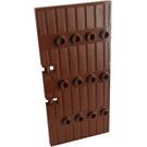 LEGO Reddish Brown Door 1 x 5 x 8.5 Stockade (87601)