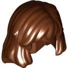 LEGO Reddish Brown Female Mid Length Hair (40251)