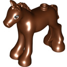 LEGO Reddish Brown Foal with Hole Dia. 1.5 (30432)