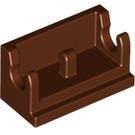 LEGO Reddish Brown Hinge 1 x 2 Base (3937)