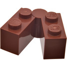 LEGO Reddish Brown Hinge Brick 1 x 4 Assembly