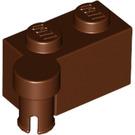 LEGO Reddish Brown Hinge Brick 1 x 4 Top (3830 / 65122)