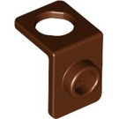 LEGO Reddish Brown Minfigure Neck Bracket (42446)