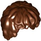 LEGO Reddish Brown Minifigure Figure Hair (10048)