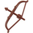 LEGO Reddish Brown Minifigure Figure Long Bow with Arrow (93231)