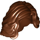 LEGO Reddish Brown Minifigure Hair (23187)