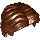 LEGO Reddish Brown Minifigure Hair (26139)