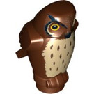 LEGO Reddish Brown Owl with Spotted Chest with Angular Features (92648)