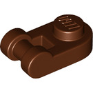 LEGO Reddish Brown Plate 1 x 1 Round with Handle (26047)